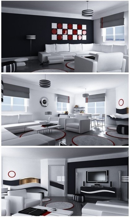 Coolest Living Room Inspirations | Awesome Architecture, Interior & Home Inspirations ~ eLuros.com | Living Room 2013 | Scoop.it