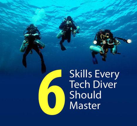 6 Skills Every Tech Diver Should Master | SDI | TDI | ERDI | DiverSync | Scoop.it