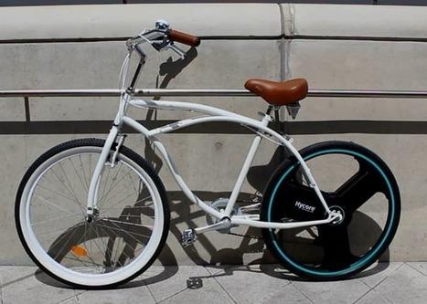 Centinel Wheel makes bikes into e-bikes   Creativity & Innovation  for success   Scoop.it