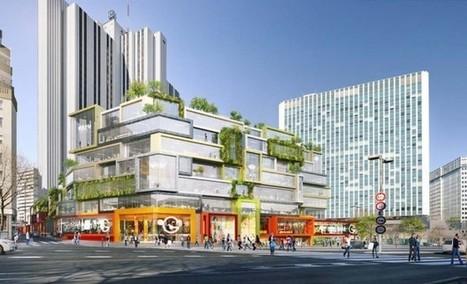 A Montparnasse, MVRDV mettra la mixité en boîtes - Projets | Réinventer la communication des centres commerciaux | Scoop.it