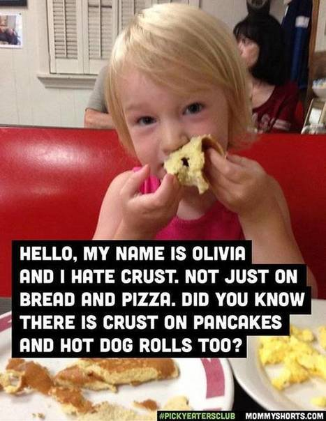 27 Toddlers Who Only Eat Certain Foods... | Strange days indeed... | Scoop.it