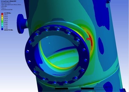 Identifying and Reducing Stresses in Pressure Vessels | CAE Analysis | Scoop.it