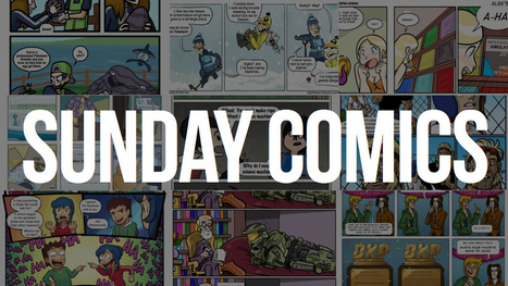 Sunday Comics: Blinded With Science - Kotaku | CLOVER ENTERPRISES ''THE ENTERTAINMENT OF CHOICE'' | Scoop.it