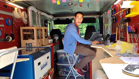 SparkTruck, how to put a makerspace on four wheels | mobile fablabs | Scoop.it