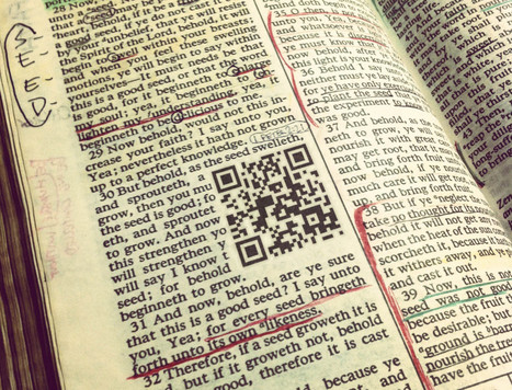 QR Codes in Books: Make your textbook interactive | QR code readers, generators and news | Scoop.it