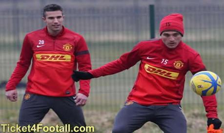Robin van Persie and Nemanja Vidic will not Play for Man Utd Against Bayer Leverkusen   Football Ticket   Scoop.it