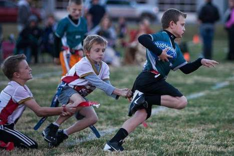 Youth enjoy flag football - St. George Daily Spectrum | Football | Scoop.it