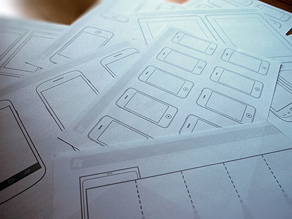 Free UX Sketching And Wireframing Templates For Mobile Projects | Smashing UX Design | Webdesign, interfaces et expérience utilisateur | Scoop.it