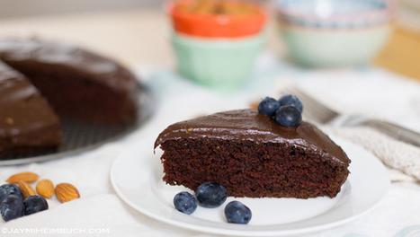 Vegan Chocolate Cake with Chocolate Avocado Frosting | My Vegan recipes | Scoop.it