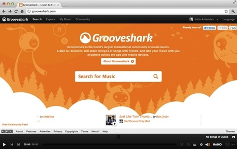 Grooveshark Has New And Improved Look, But Same Old Problems | Music business | Scoop.it