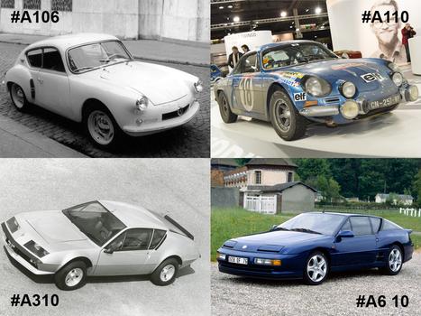 Alpine : 60 ans de passion automobile | Voitures anciennes - Classic cars - Concept cars | Scoop.it
