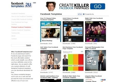 11 Effective Tools For Creating Facebook Fan Pages | SocialMediaDesign | Scoop.it