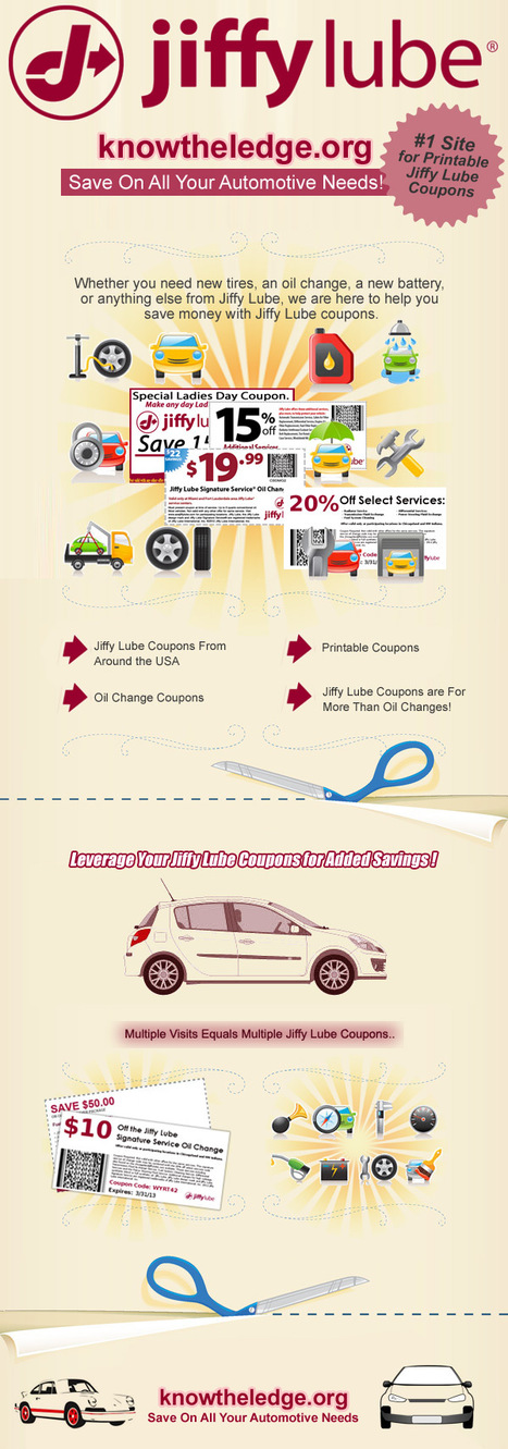 Jiffy Lube Coupons your true friend at time of need | Jiffy Lube Coupons your true friend at time of need | Scoop.it