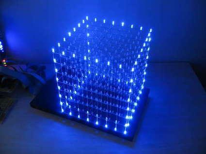 LED Cube 8x8x8 con Arduino | Electrónica y Arduino | Scoop.it
