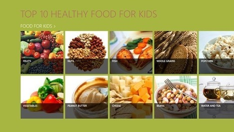 Top 10 Healthy Foods for Kids - IdealBite | Health and Fitness | Scoop.it
