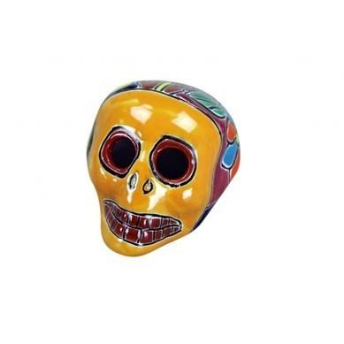 Talavera Hand Painted Skull | Talavera Hand Painted Skull | Scoop.it
