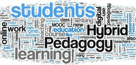 Hybrid Pedagogy | What is Hybrid Pedagogy? | Distance Ed Archive | Scoop.it