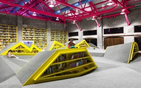 Bibliothèque-paysage, par Anagrama | Architecture pour tous | Scoop.it