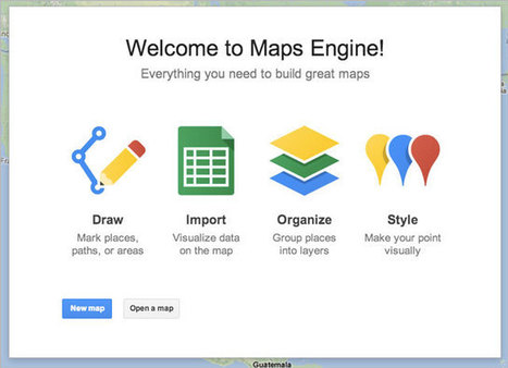 Visualize your data on a custom map using Google Maps Engine Lite [Tuto] | Time to Learn | Scoop.it