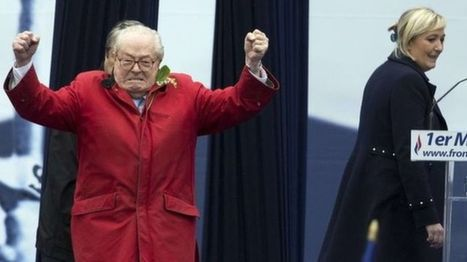 France National Front: Jean-Marie Le Pen 'ashamed' his daughter has his name   Trade unions and social activism   Scoop.it
