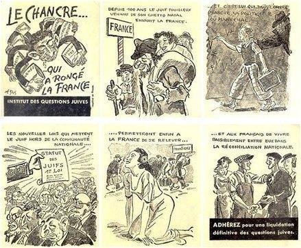 La deuxième guerre mondiale en Première - Vichy et les Juifs par Jocelyne et Jean-Pierre Husson | Travail sur les deux guerres 1è STMG | Scoop.it