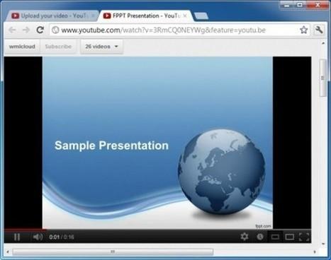 Hoe een Powerpoint presentatie op Youtube te zetten - Media en Technologie in het Onderwijs   How to capture your audience's attention   Scoop.it