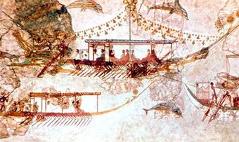 War was central to Minoan civilization | Changes in Greek Government between 1500-300 B.C. | Scoop.it