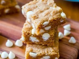 White Chocolate Blondies | Yummy and Easy Dessert | Scoop.it