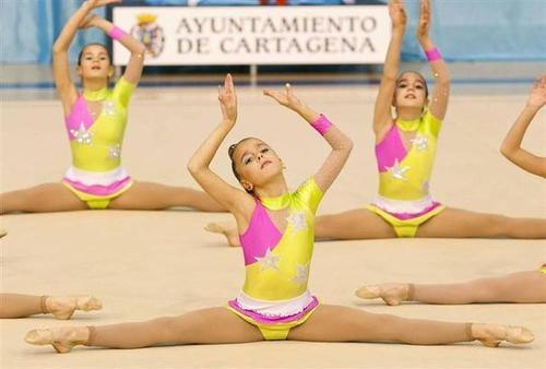 España roza el podio en el Mundial de Gimnasia Estetica de Grupo
