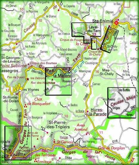 Lozère, Gorges du Tarn et Causses. | DESARTSONNANTS - CRÉATION SONORE ET ENVIRONNEMENT - ENVIRONMENTAL SOUND ART - PAYSAGES ET ECOLOGIE SONORE | Scoop.it