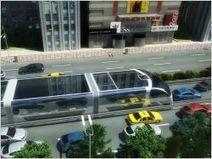Le bus suspendu, une solution futuriste aux problèmes de transport urbain | great buzzness | Scoop.it