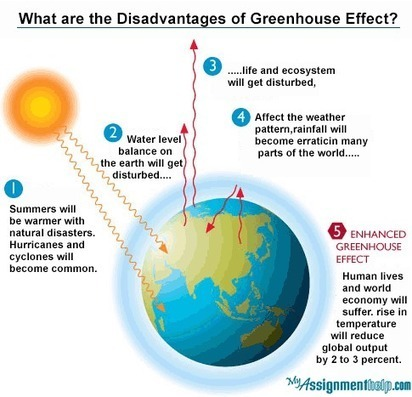 What are the disadvantages of the Greenhouse effect? | Assignment Help -Australia, UK & USA | Scoop.it