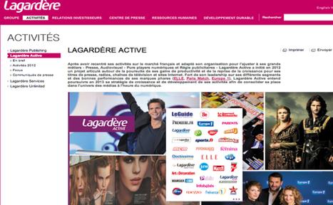 Lagardère se renforce dans le numérique avec 11 millions d'euros dans Idinvest Partners | Business | Scoop.it