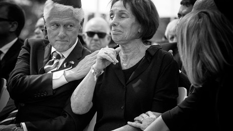 Emotion in high places: Stunning photos from the Peres funeral | Jewish Education Around the World | Scoop.it