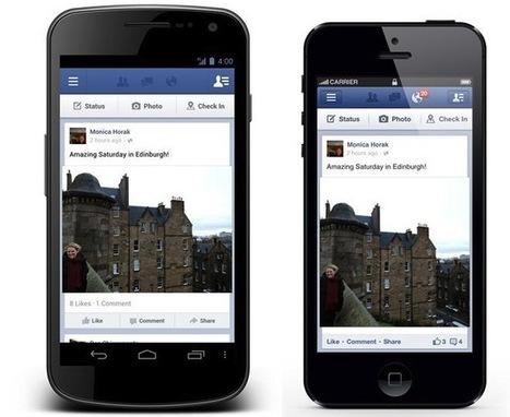 Äntligen kommer Dela-knappen till Facebooks mobila applikationer | Facebookskolan | Folkbildning på nätet | Scoop.it