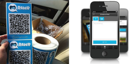 QR code stickers turn real-world objects into digital conversations | Sands Media | Scoop.it