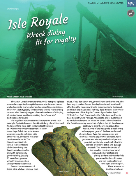 SCUBA and H2O Adventure September 2014 Page 15 | DiverSync | Scoop.it