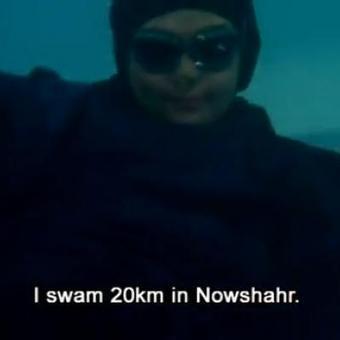 Elham Ashgari, championne iranienne de natation, déchue de son titre parce que sa tenue n'était pas conforme à la charia (vidéo)   Nouvelle vague Nationale   Scoop.it