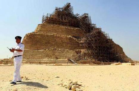 Egypte: la pyramide de Djoser n'a pas été endommagée selon le gouvernement | Archeology on the Net | Scoop.it