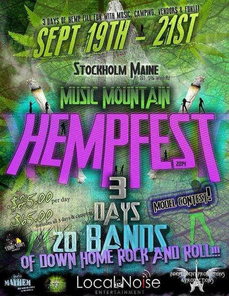 Music Mountain HEMPFEST | Marketing and Promotion | Scoop.it