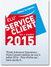 Cegid : reçoit le prix « Élu Service Client de l'Année 2015 », catégorie Éditeur de logiciels – Service client BtoB | Cegid Profession Comptable | Scoop.it