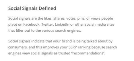 The Dirty Secret about Social Media and SEO | Social Media Useful Info | Scoop.it