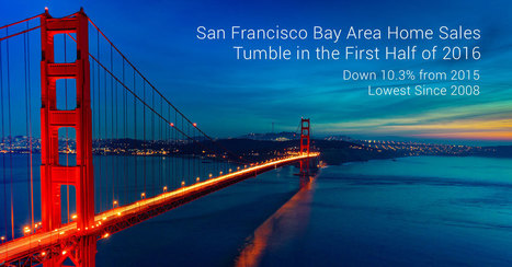 San Francisco Bay Area Home Sales Tumble in First Half of 2016 - Lowest Since 2008   Real Estate Plus+ Daily News   Scoop.it