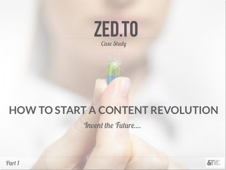 Zed.TO Case Study. How to Start a Content Revolution…Design the Future « TMCResourceKit #transmedia | Tracking Transmedia | Scoop.it