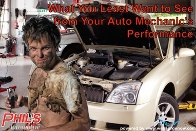 What You LEAST Want to See from Your Auto Mechanic's Performance   Automotive Repair   Scoop.it