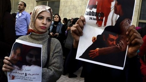 In a first, Egyptian president speaks about killed protestor, Shaimaa el-Sabbagh mother & wife; Calling her a 'martyr' & he was pained by her death 24 Jan., '15 in a peaceful protest' | News You Can Use - NO PINKSLIME | Scoop.it