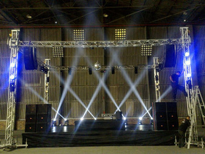 Stage Lighting Hire - Stage Design and Stage Lighting Hire   Audio Visual   Scoop.it