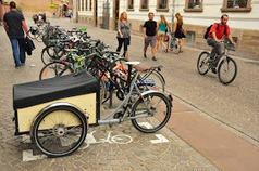 I bike Strasbourg: Des premières places de stationnement pour vélos cargo à Strasbourg ! | Le vélo rigolo | Scoop.it