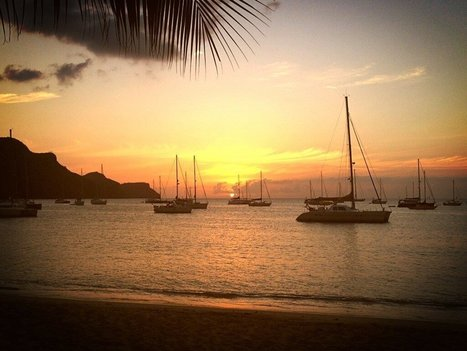 Twitter / duncanhawkins: Sun droppin' Vibe hottin' at ... | Bequia - All the Best! | Scoop.it