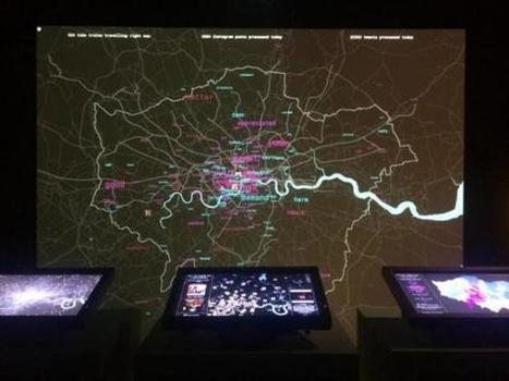 Big Bang Data exhibition: In a Big Bang Institution (Somerset House) | by Samantha Penn on furtherfield | Digital #MediaArt(s) Numérique(s) | Scoop.it